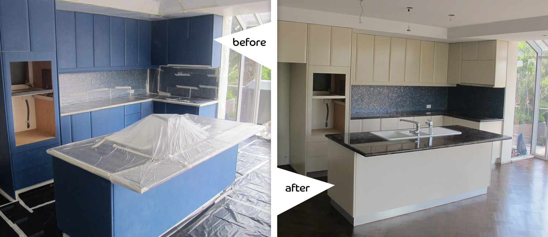 Resurfacing Sydney Kitchen Cabinets Mosman